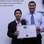 2014 Graduate of Doctor of Osteopathy (DO) Program of National University of Medical Sciences