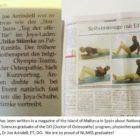 An Article written in magazine
