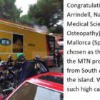 Congratulations go to Dr Joe Arrindell