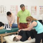Dr Pourgol Teaching osteopathy Techniques