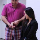 Dr Pourgol teaching manual osteopathy
