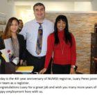 Happy 4th Year Anniversary to NUMSS registrar