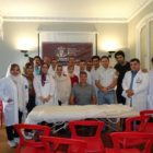 Iranian DPT students in Madrid training