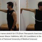 Median nerve strech for CTS