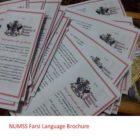 NUMSS Farsi Language brochure