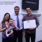 NUMSS first Doctor of Osteopathy graduate- Fernando Azevedo