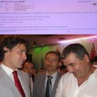 NUMSS president meets prime minister of Canada
