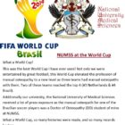 National University of Medical Sciences at the World Cup 2014