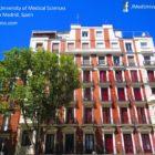 National University of Medical Sciences campus in Madrid - Spain