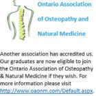 Ontario Association of Osteopathy and Natural Medicine