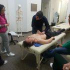 Professor Amir Ghafari teaching osteopathic visceral manipulation1
